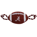 AL-3121              - Alabama Crimson Tide - Nylon Football Toy