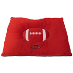 ARK-3188 - Arkansas Razorbacks - Pet Pillow Bed