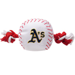 ATH-3105 - Oaklands A`s - Nylon Baseball Toy