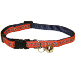 AU-5010 - Auburn Tigers - Cat Collar