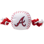 BRV-3105 - Atlanta Braves - Nylon Baseball Toy