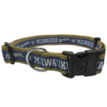 BRW-3036-XL - Milwaukee Brewers Extra Large Dog Collar