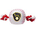 BRW-3105 - Milwaukee Brewers - Nylon Baseball Toy