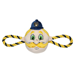 BRW-3242 - Milwaukee Brewers - Mascot Double Rope Toy