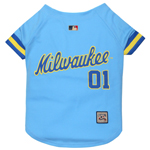 BRW-4000 - Milwaukee Brewers - Throwback Jersey