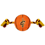 CAV-3105 - Cleveland Cavaliers - Nylon Basketball Rope Toy