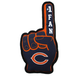 CHI-3277 - Chicago Bears - No. 1 Fan Toy