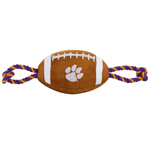CL-3121 - Clemson Tigers - Nylon Football Toy