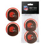 CLE-3189 - Cleveland Browns - Tennis Ball 2-Pack