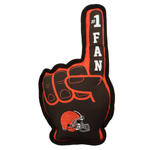 CLE-3277 - Cleveland Browns - No. 1 Fan Toy