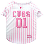 CUB-4019 - Chicago Cubs - Pink Baseball Jersey