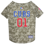 CUB-4060 - Chicago Cubs - Mesh Camo Jersey