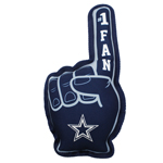 DAL-3277 - Dallas Cowboys - No. 1 Fan Toy