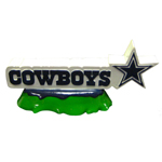 DAL-8013 - Dallas Cowboys - Fish Tank Logo Ornament