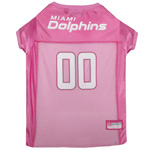 DOL-4019 - Miami Dolphins - Pink Mesh Jersey