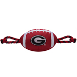 GA-3121 - Georgia Bulldogs - Nylon Football Toy