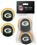 GBP-3189 - Green Bay Packers - Tennis Ball 2-Pack