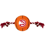 HAW-3105 - Atlanta Hawks - Nylon Basketball Rope Toy
