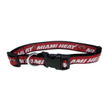 HEA-3036 - Miami Heat - Dog Collar