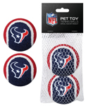 HOU-3189 - Houston Texans - Tennis Ball 2-Pack