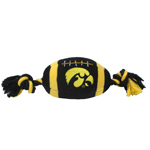 IA-3033 - University of Iowa Hawkeyes - Football Rope Toy