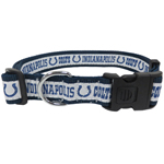 INC-3036-XL - Indianapolis Colts Extra Large Dog Collar