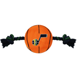 JAZ-3105 - Utah Jazz - Nylon Basketball Rope Toy