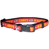 KCC-3036 - Kansas City Chiefs - Dog Collar