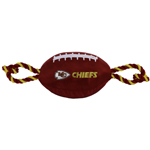 KCC-3121 - Kansas City Chiefs - Nylon Football Toy