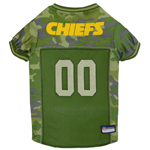 KCC-4060 - Kansas City Chiefs - Mesh Camo Jersey