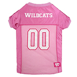 KS-4019 - Kansas State Wildcats - Pink Football Mesh Jersey