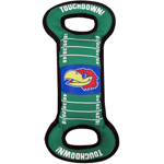 KU-3030 - University of Kansas Jayhawks - Field Tug Toy