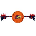 KU-3105 - Uni. of Kansas Jayhawks - Nylon Basketball Toy