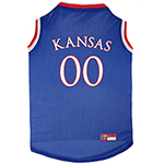 KU-4020 - Univer of Kansas Jayhawks - Basketball Mesh Jersey
