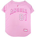 LAA-4019 - Los Angeles Angels - Pink Baseball Jersey