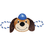LAD-3242 - Los Angeles Dodgers - Mascot Double Rope Toy