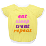 LDY-4014F - LaurDIY - Eat Sleep Treat Tee