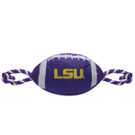 LSU-3121 - LSU Tigers - Nylon Football Toy