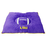 LSU-3188 - LSU Tigers - Pet Pillow Bed