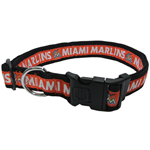 MAR-3036-XL - Miami Marlins Extra Large Dog Collar