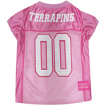 MD-4019 - Maryland Terrapins - Pink Football Mesh Jersey