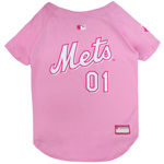 MET-4019 - New York Mets - Pink Baseball Jersey