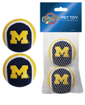 MI-3189 - Michigan Wolverines - Tennis Ball 2-Pack
