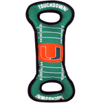 MIA-3030 - Miami Hurricanes - Field Tug Toy