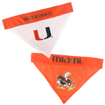 MIA-3217 - Miami Hurricanes - Home and Away Bandana