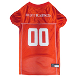 MIA-4006 - Miami Hurricanes - Football Mesh Jersey