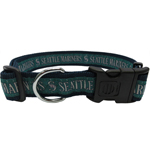 MRN-3036-XL - Seattle Mariners Extra Large Dog Collar