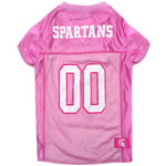MS-4019 - Michigan State Spartans - Pink Mesh Jersey