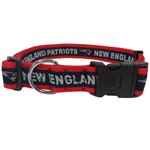 NEP-3036-XL - New England Patriots Extra Large Dog Collar