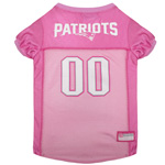 NEP-4019 - New England Patriots - Pink Mesh Jersey